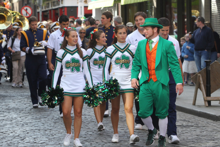 e7d3ef8afd2f07 Opinion: Suggesting the 'Fighting Irish' mascot of Notre Dame is offensive  is neglectful to history