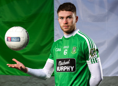 James Murray was centre-back for Moorefield's Leinster club final win.