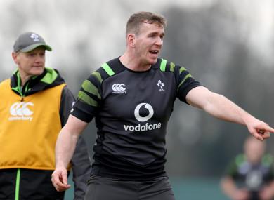 Farrell replaces Robbie Henshaw in Ireland's midfield.