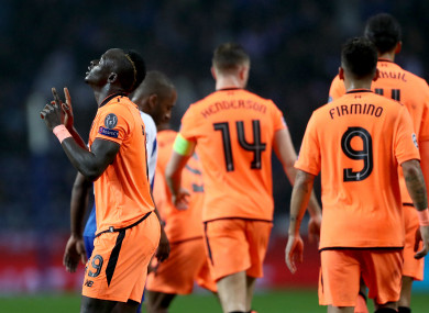 Mane's first-half strike set Liverpool on their way.