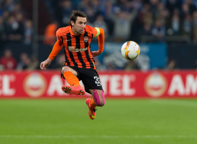 Srna won't be able to play until August of this year.