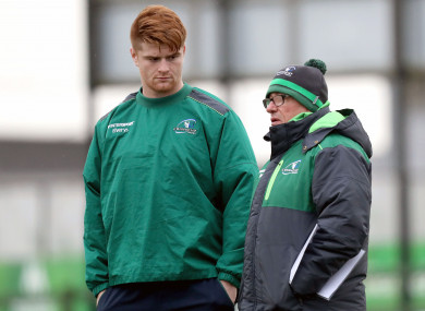 Sean O'Brien is back for Connacht this Friday.