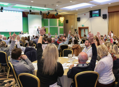 File photo of people at the Citizens' Assembly.