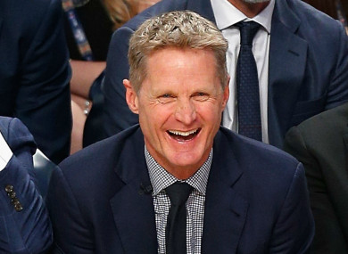 Steve Kerr: 'will I get away with it?'