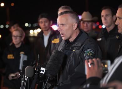 Austin Police Chief Brian Manley.