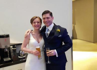 Tara McSwiney and Paul Davies.
