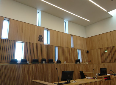 Court 2 in Limerick's newly opened Courthouse.