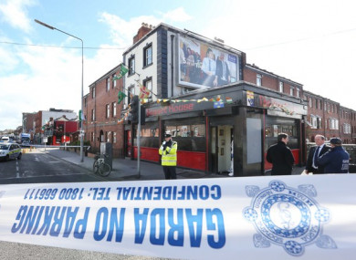 The Sunset House pub in Dublin's north inner city.