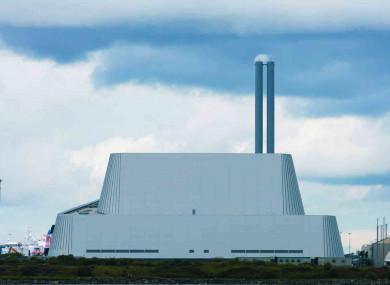 The Poolbeg incinerator