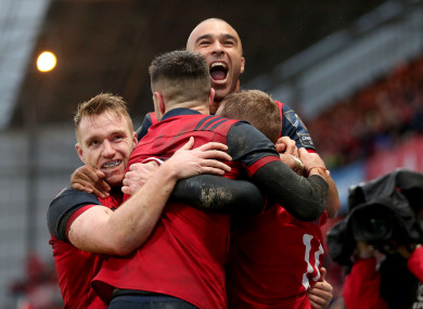 Munster will be hoping for another famous European result this afternoon.