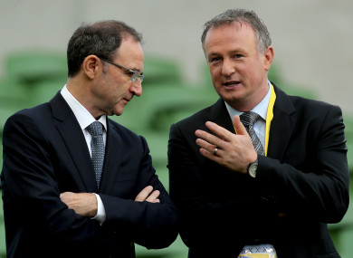 Martin and Michael O'Neill are set to meet to discuss the matter.