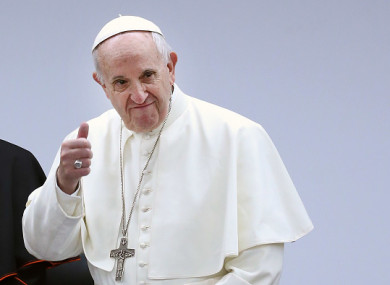 This is the first visit of a sitting Pope since 1979.