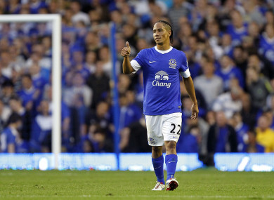 Pienaar enjoyed two spells with the Toffees.