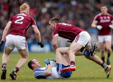 Kevin Walsh's Galway team can look forward to the league final.