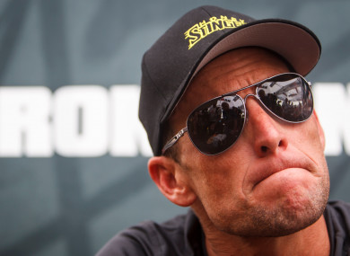 c06f0cf48 Lance Armstrong settles  100m lawsuit with US government and former teammate