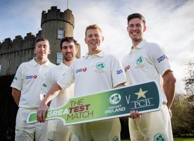 Ireland face Pakistan at Malahide next month.