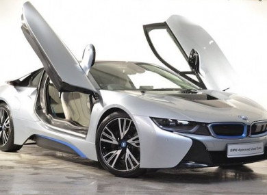 Motor Envy The Bmw I8 Is A Plug In Hybrid That Ll Make People Stop