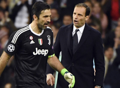 70808c98289 Zidane: Buffon doesn't deserve to go out this way · The42