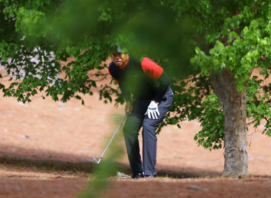 Woods finished in a tie for 32nd at Augusta last week.