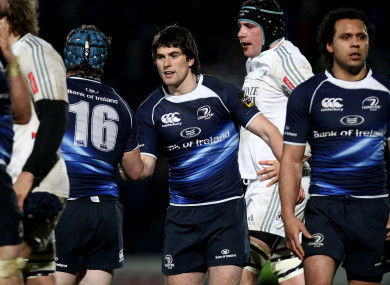 McKinley in action for Leinster back in 2011.