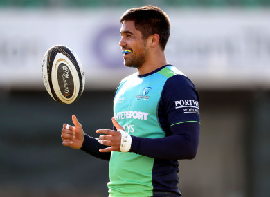 Jarrad Butler will captain Connacht for the first time.