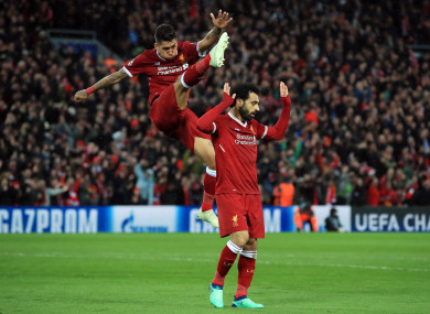 liverpool rock roma in champions league thriller the42