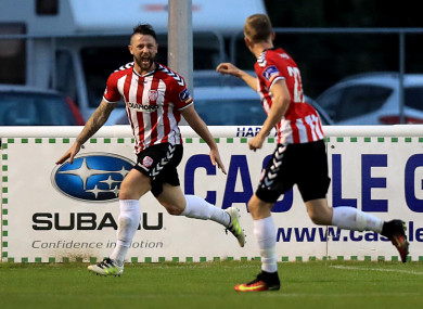 Derry's Rory Patterson was on target (file pic).