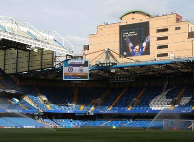 Stamford Bridge was due to be knocked down and replaced with a new 60,000-seater stadium.