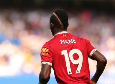 promo code 51f07 96585 Mane sends 300 Liverpool shirts to his home village for ...