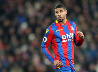 Crystal Palace's Ruben Loftus-Cheek.