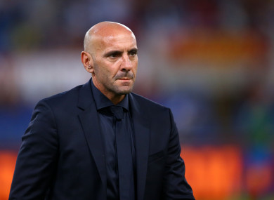AS Roma Sport Director Monchi (file pic).