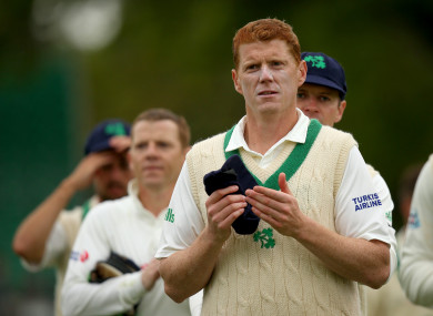 O'Brien was named player of the match at Malahide.