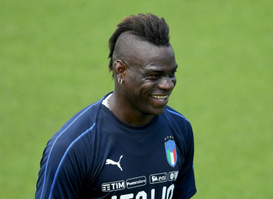 Mario Balotelli could be set to win his first Italy cap in four years.
