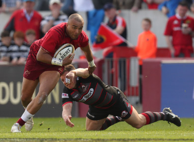 Zebo may well feature in his last ever game for the province as he departs this summer.