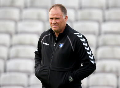 Neil McDonald spent eight months in charge of Limerick.