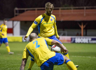 Paddy McCourt scored for Finn Harps on Friday (file pic).
