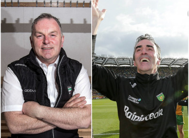 Cathal Corey was never in doubt of the managerial prowess of Jim McGuinness.
