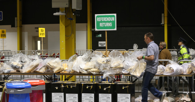 AS IT HAPPENED: Counting and final tallies indicate a strong Yes in Eighth Amendment referendum