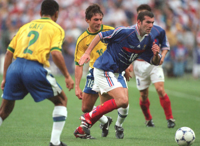 1a4f3033cb0 We used a little trickery' - '98 World Cup fixed to ensure France ...