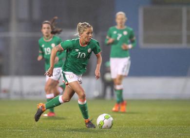 Denise O'Sullivan is one of Ireland's key players.