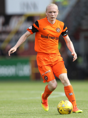Willo Flood during his time at Dundee United.