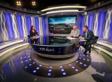 The weekly GAA show wasn't available on Sky for those in Northern Ireland.