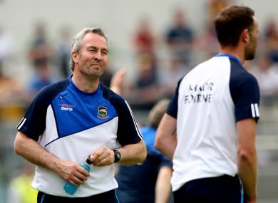 Tipperary hurling manager Michael Ryan.