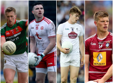 O'Connor, McAliskey, Feely and Heslin all in action this weekend.