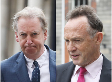 Paul Williams (left) and Paul Reynolds (right) gave evidence today