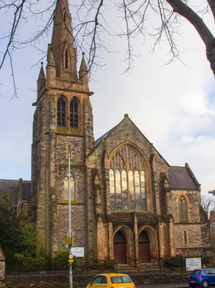 File photo of a church in Belfast.