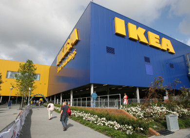 Ikea's Ballymun store.
