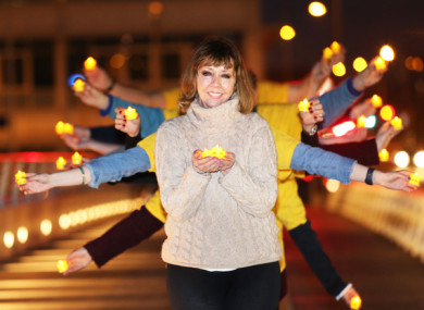 File photo: Joan Freeman at the launch of Darkness into Light 2016