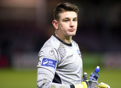 Tadhg Ryan joined Galway United ahead of the 2018 season.