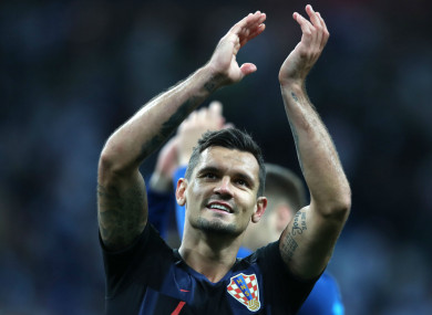 Lovren: has another shot at glory after Liverpool's Champions League disappointment.